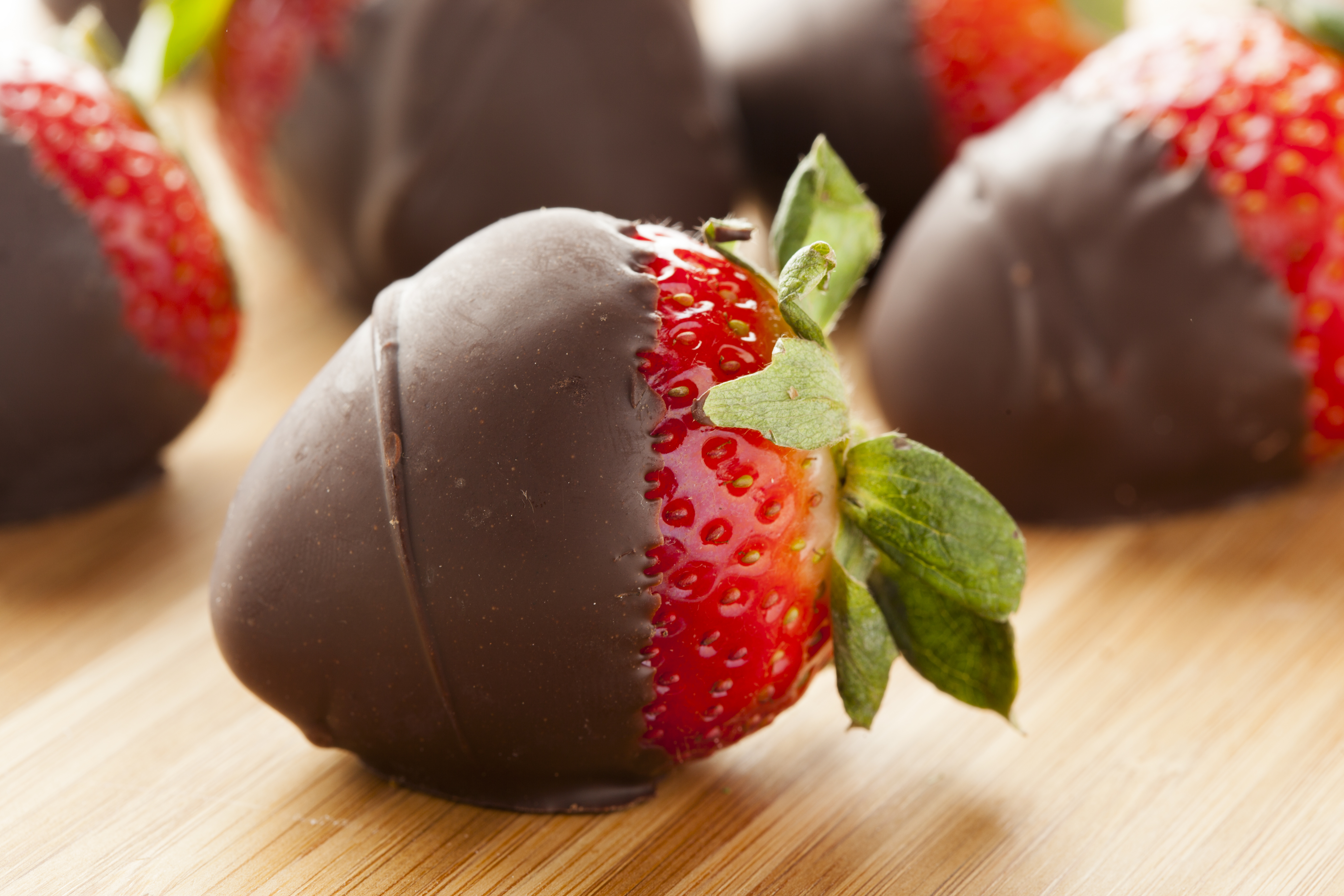 Super Easy Chocolate-Covered Strawberries Recipe