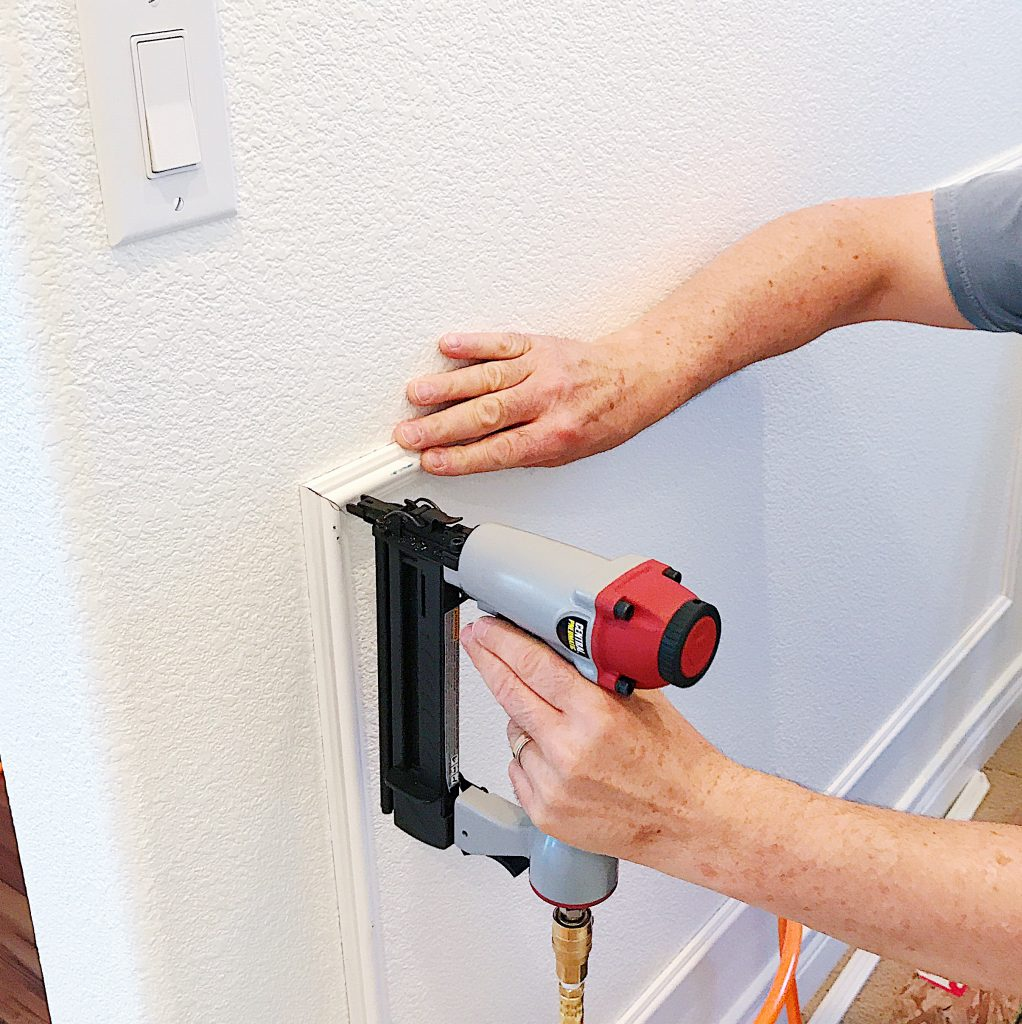 How to Install Picture Frame Molding (aka Panel Moulding)