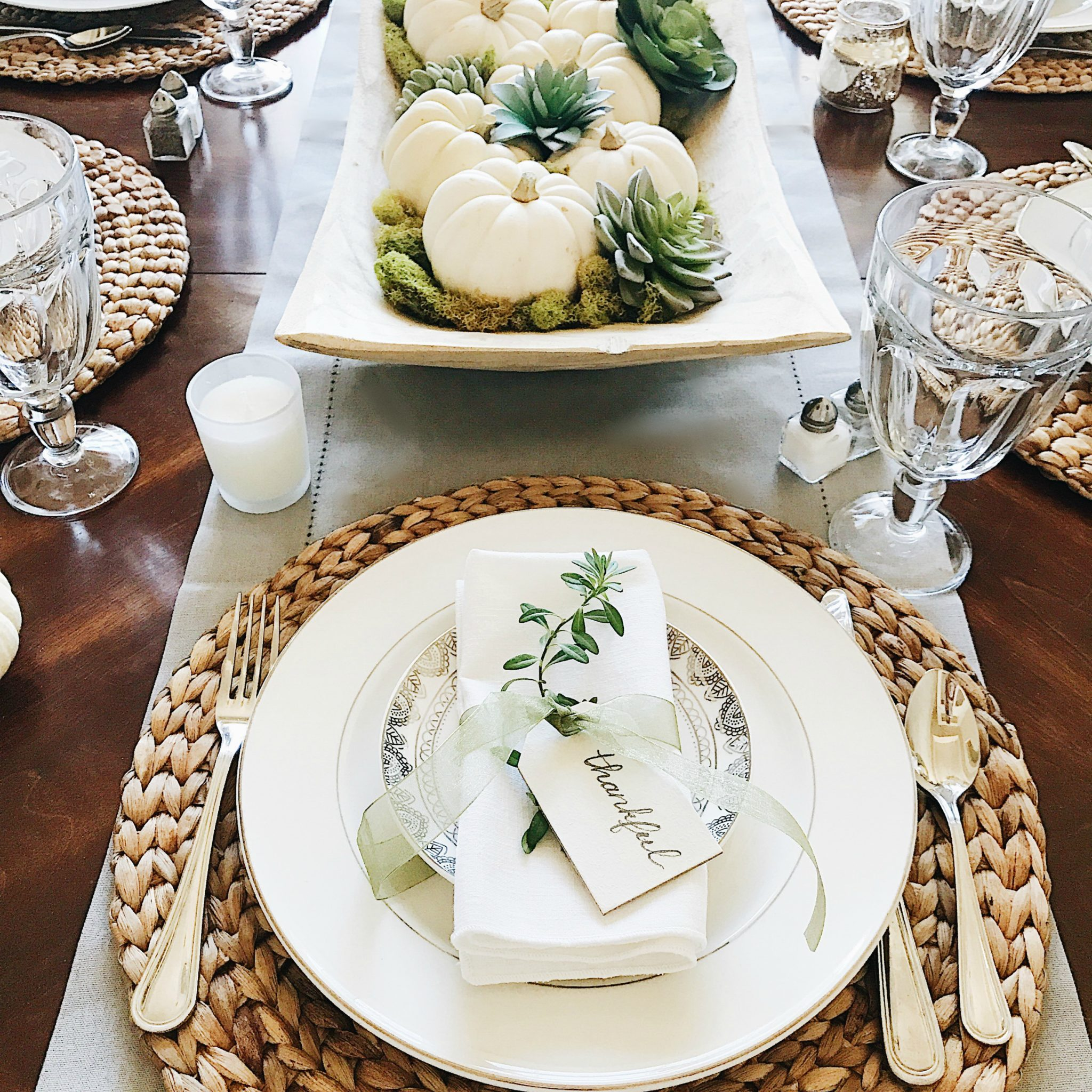 table setting ideas 16 beautifully simple thanksgiving table setting ideas 12104
