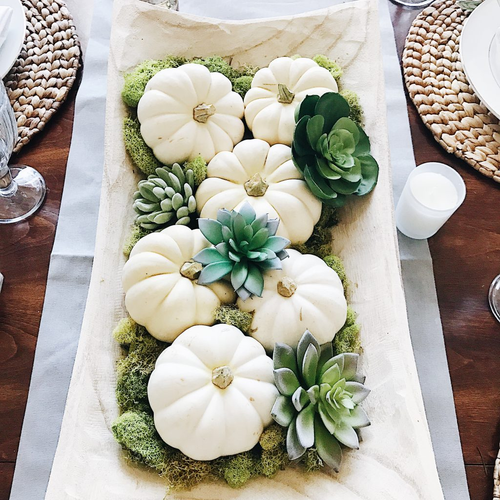 Unique Handmade Paper Mache Pumpkin Elegant Fall Table Decor Thanksgiving Table Elegant Decorated White Pumpkin OOAK Pumpkin Decor