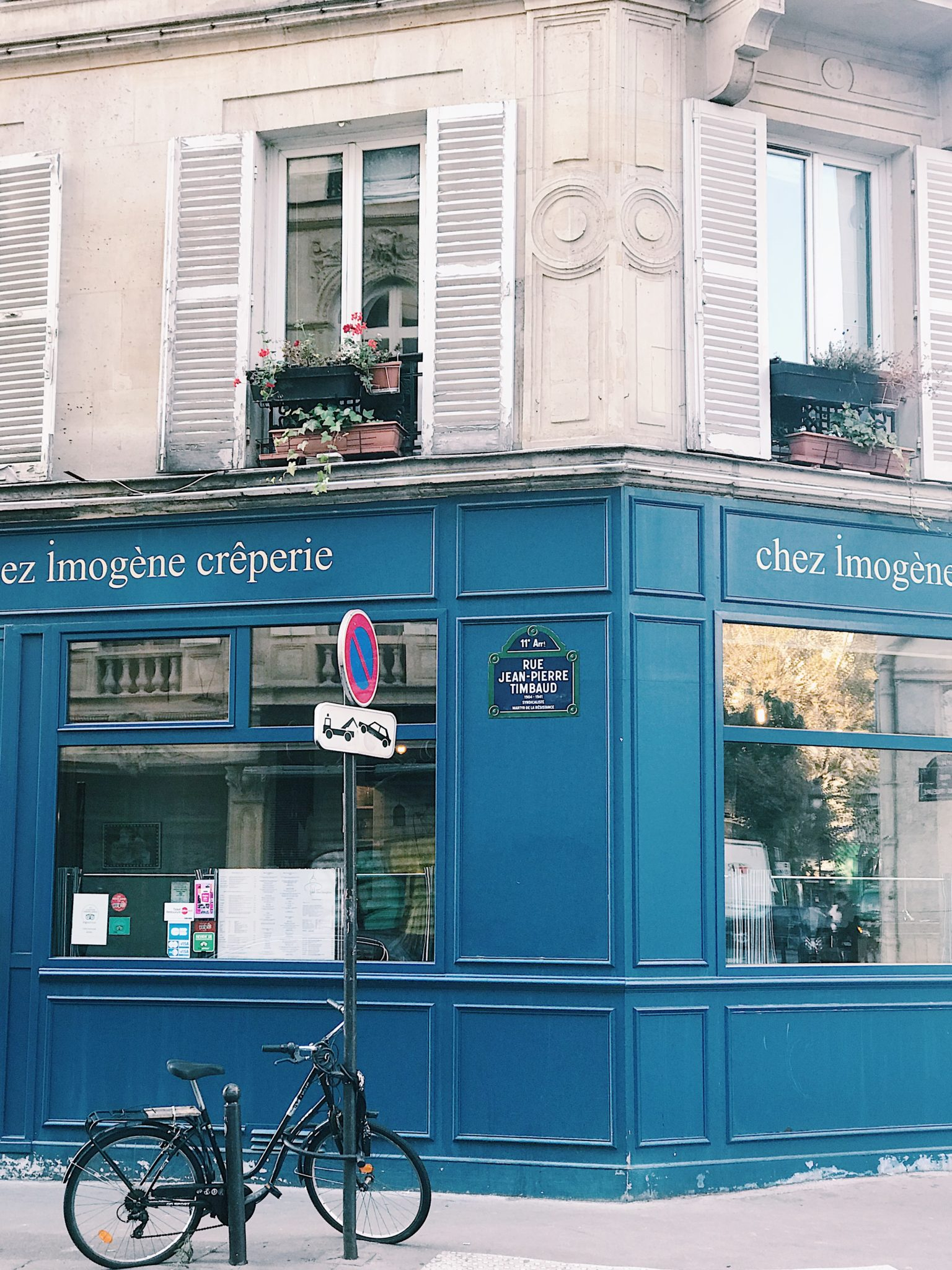 Chez Imogene Creperie Paris